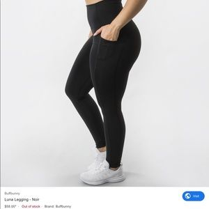 Buffbunny | Luna Leggings Black Small